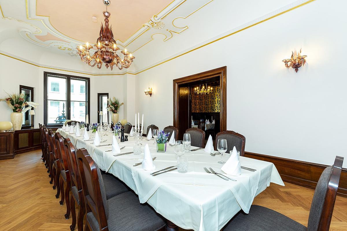 Sala Da Pranzo Augustiner Stammhaus A Monaco Di Baviera